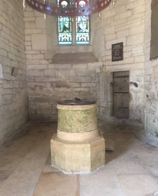 Holy Rood Church Font, Ampney Crucis