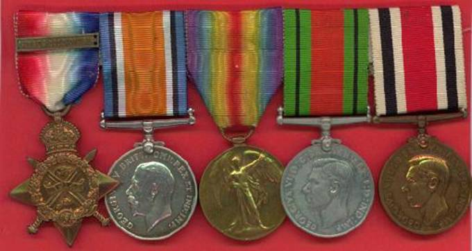 Private Francis Day Medals