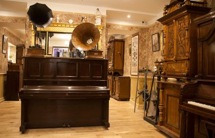 Mechanical Music Museum at Northleach