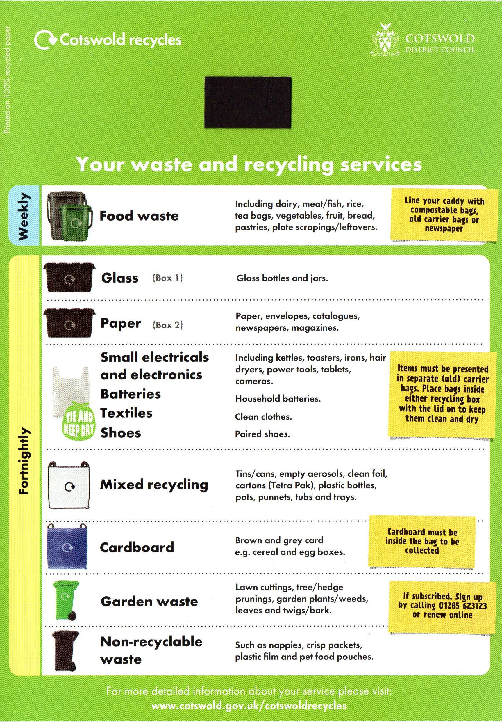 Waste and Recycling Services